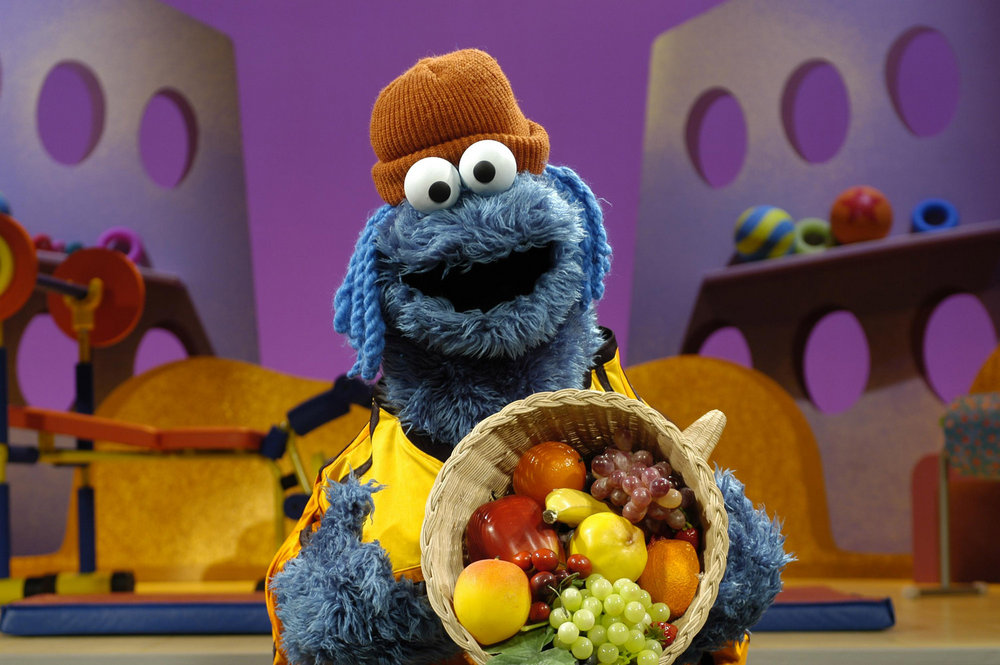 "2006: Sesame Street Has Cookie Monster Eat Fruits And Vegetables.  Sesame Street decided to start airing Healthy Habits For Life segments. Cookie Monster explained that his new philosophy was that cookies were ""a sometimes food.""  PBS Viewer Services responded to viewers' concerns with an email saying the show had no plans get rid of Cookie Monster, and he would continue to obsess over t..."