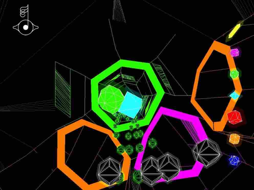 Image from Bjork's  Biophilia app