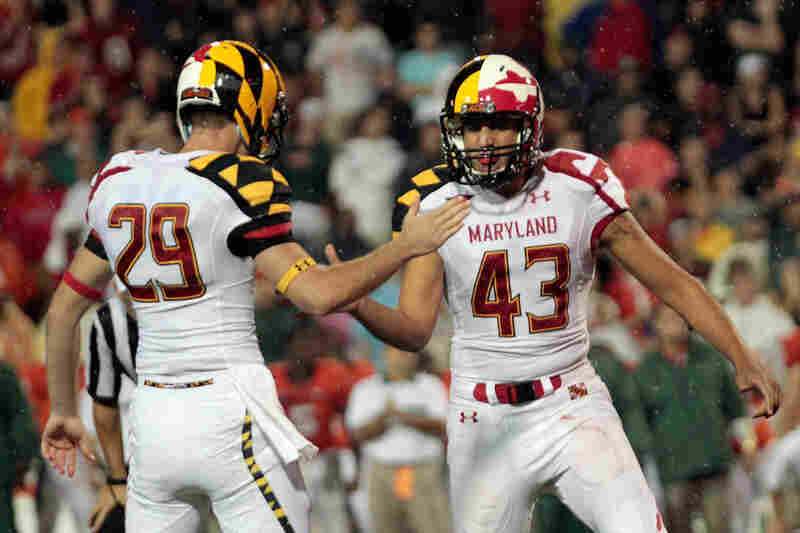 "2011: University Of Maryland Debuts Its New Football Uniforms. According to the Two-Way's Eyder Peralta, the unveiling was met with a lot of disappointment. Some of the Twitter reviews from sports celebrities: ""OH GOSH! Maryland uniforms #Ewwwwww!"" (NBA star LeBron James) and ""Man university of Marylands football team have some ugly jerseys lol"" (soccer star Freddy Adu). If you want a cl..."