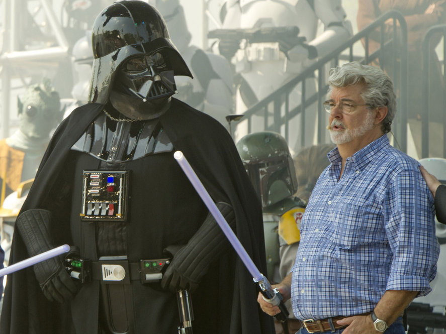 "2011: George Lucas Releases A Blu-ray Box Set Of The Six Star Wars Films.  Many fans are urging a boycott of the set because Lucas made unwanted changes, including having Darth Vader scream ""Noooo!"" when he kills Emperor Palpatine. One review on Amazon.com says: ""Adding Vader's 'Nooo!' is just going too far."" As someone who missed the key scene in the movie theater when Darth Vader told ..."
