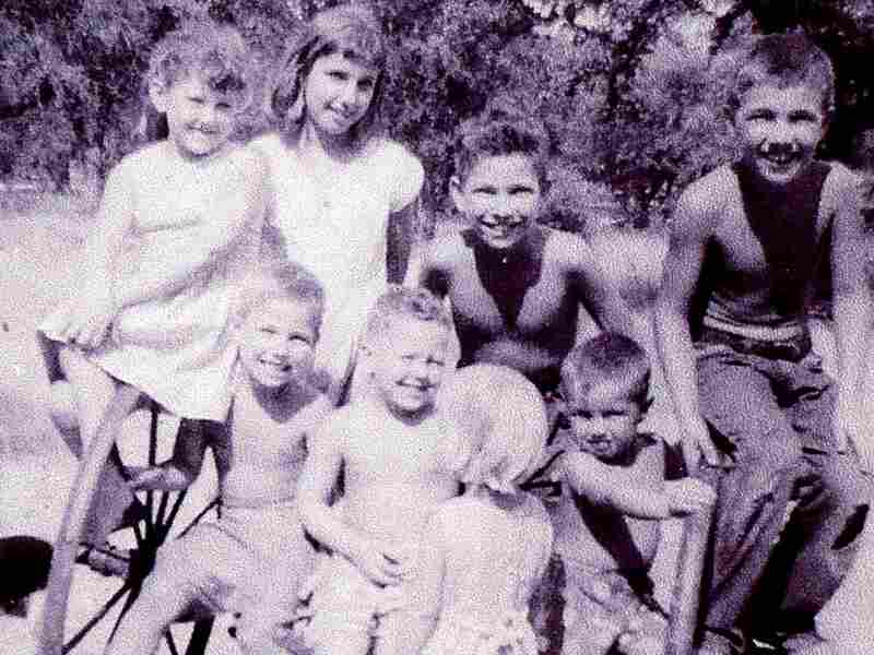 Tony Norris (bottom left) poses for a photo as a child in central Texas.