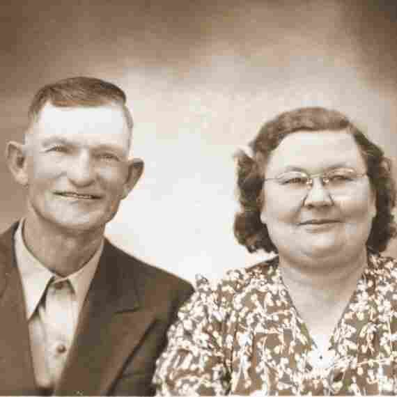 This photo shows Tony's aunt Pearl, and his uncle, Jim Yeary.