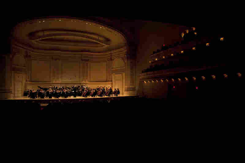 A sold-out audience eagerly awaited this performance by the Mariinsky Orchestra, which was part of a Tchaikovsky-themed series that began Carnegie Hall's 120th anniversary season.