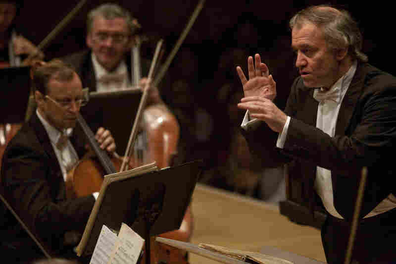 Gergiev in action, conducting three scenes from Prokofiev's ballet 'Romeo And Juliet.'