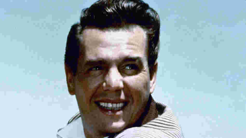 Desi Arnaz, seen in 1955, was one of the first characters to speak Spanish on English-language television.