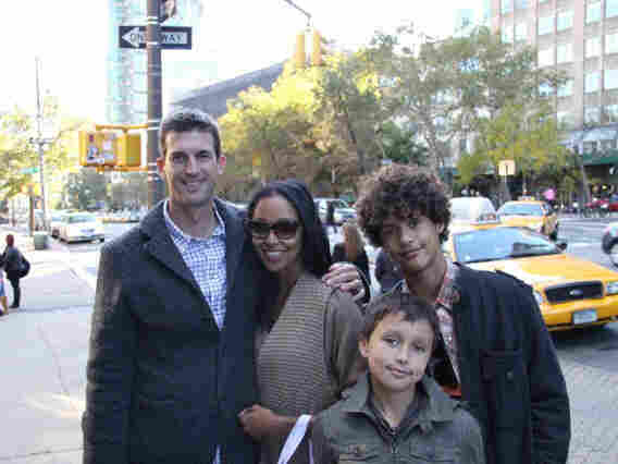 Glen Owen, 43, with his wife, Meredyth, 42, and their two sons, Addison, 13, and Ellis, 11. The Owens live in Atlanta. He is a filmmaker and she is a stay-at-home mom.