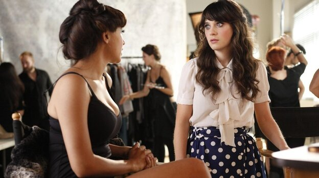 Zooey Deschanel is the star of New Girl, one of the few successful new shows of the fall.