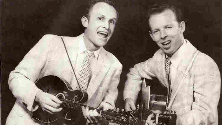 Charlie Louvin (right) and his brother Ira, a.k.a. The Louvin Brothers.