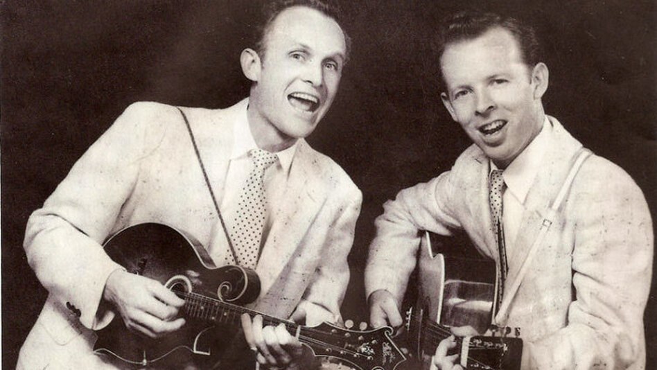 Charlie Louvin (right) and his brother Ira, a.k.a. The Louvin Brothers. (Courtesy of the artist's estate)