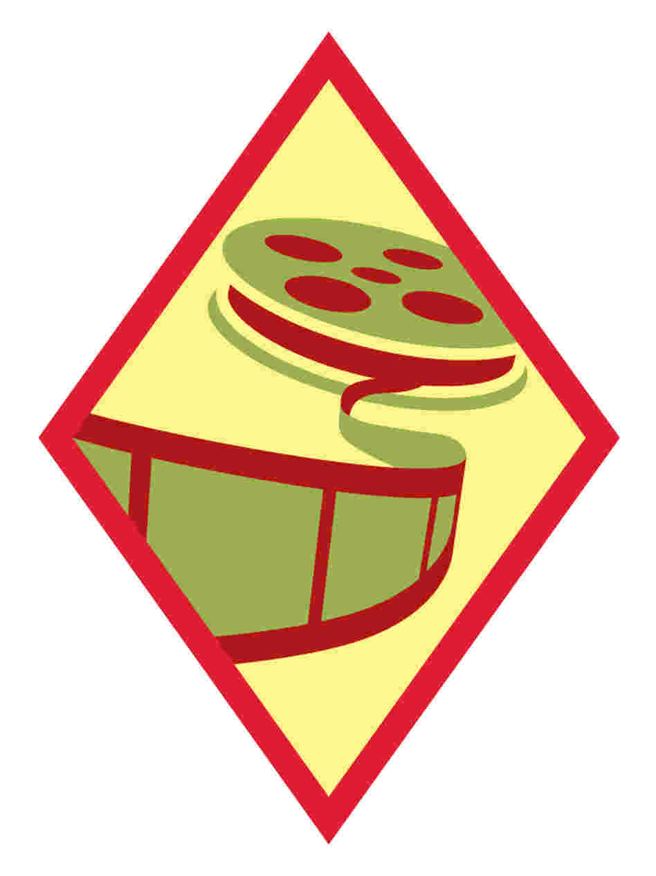 "The ""Digital Movie Maker"" badge."