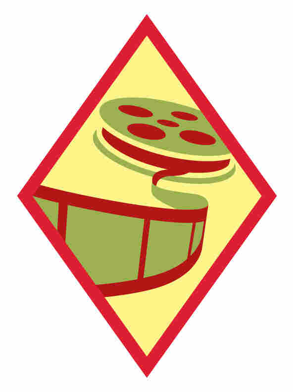 "The ""Digital Movie Maker"" badge."