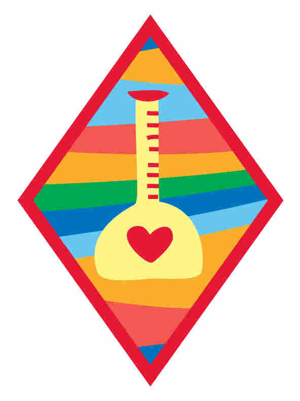 """The """"Science Of Happiness"""" badge."""