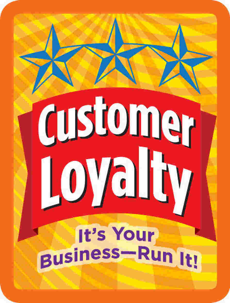 "The ""Customer Loyalty"" badge in the Cookie sequence."