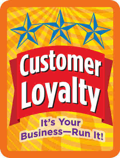 """The """"Customer Loyalty"""" badge in the Cookie sequence."""