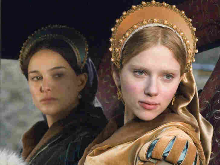 Scarlett Johansson plays Mary Boleyn in the 2008 film The Other Boleyn Girl.