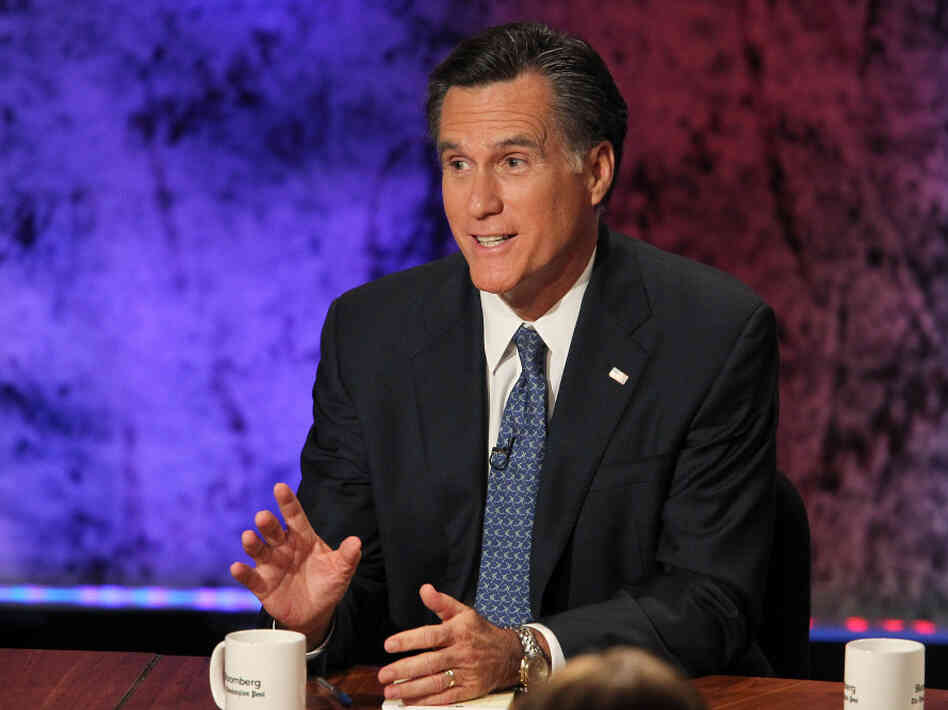 Former Massachusetts Gov. Mitt Romney maintained his frontrunner status in the GOP presidential debate at Dartmouth College on Tuesday.