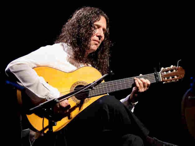 Spanish flamenco guitarist Tomatito joined Dominican pianist Michel Camilo on the Latin Grammy Award-winning Spain.
