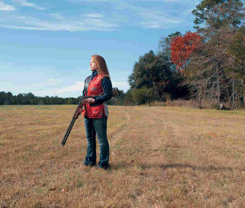 Photo 'Shoot': Girls With Guns : The Picture Show : NPR