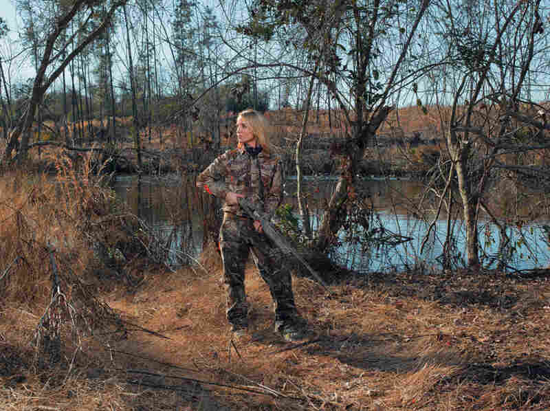 "Jillian, Ellerbe, N.C., Winchester SX 3 in Mossy Oak Duck Blind finish. ""I was raised on a tobacco farm in Ellerbe, North Carolina, with three adventurous brothers and a dad who was very passionate about hunting. From the time I could walk they would take me out into the field to hunt alongside them."""