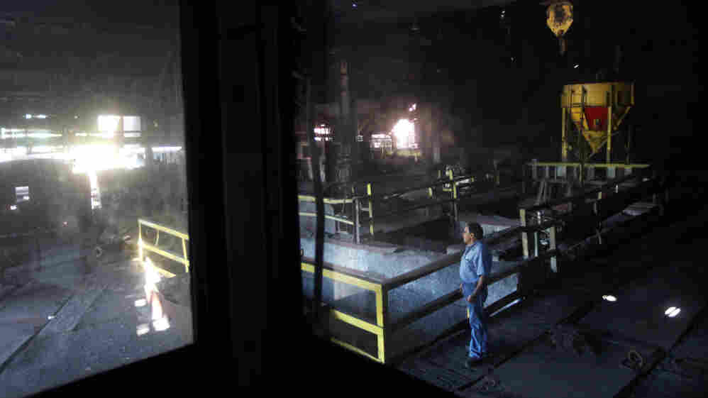 This steel plant in Weirton, W.Va., was idled in 2009. The United Steelworkers union worries that a trade deal signed this week could result in more jobs lost.
