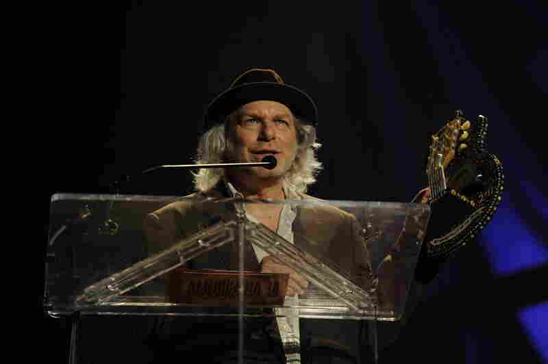On top of winning Instrumentalist of the Year, Buddy Miller also led the Americana Music Awards house band.