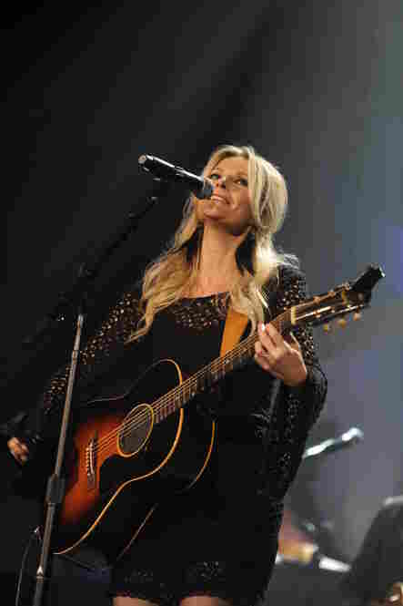 "Artist of the Year nominee Elizabeth Cook performed her Song of the Year nominee, ""El Camino."""