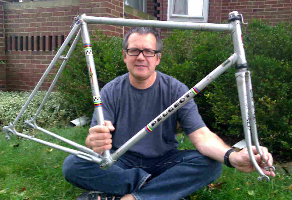 """After """"prowling"""" for-sale ads for years, Gill found the same bike he'd sold long ago."""