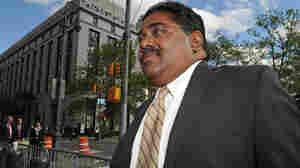 Raj Rajaratnam, billionaire co-founder of Galleon Group, entering Manhattan federal court in May.