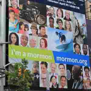 With Romney In Race,  Mormon Church Steps Up Ads
