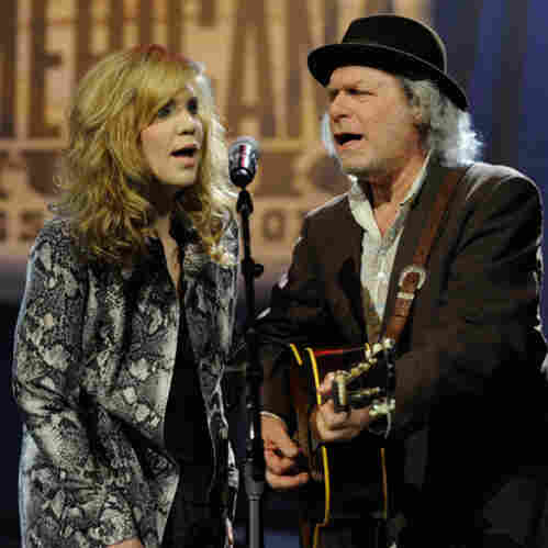 Alison Krauss and Buddy Miller.