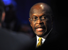 Republican presidential candidate Herman Cain participates in a presidential debate at Dartmouth College in Hanover, N.H., on Tuesday.