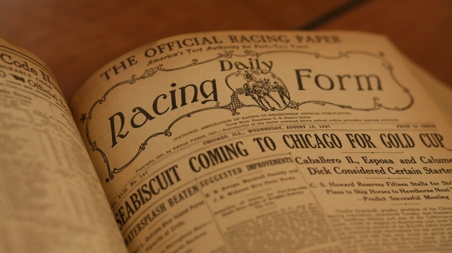 The Daily Racing Form  Years Of Racing Stats Put To Pasture At