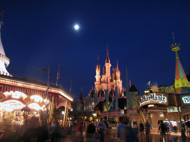 The real magic at the Magic Kingdom happens after dark.