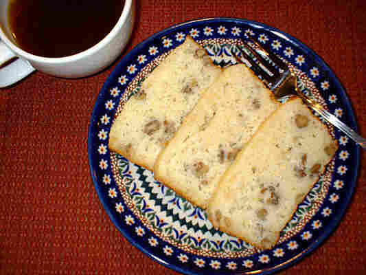 Lemon-Black Walnut Bread