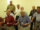 Members of the Palmetto Statesmen, a barbershop chorus, say they think the Republican Party has lost its way. Currently, many say they favor candidate Herman Cain.