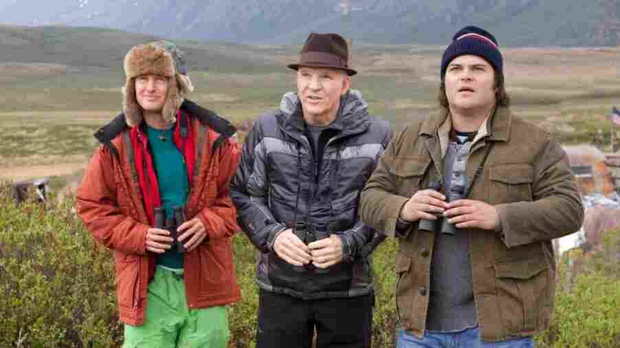 Owen Wilson, Steve Martin and Jack Black star in The Big Year.