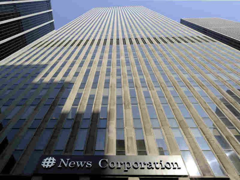 The News Corp. headquarters in New York City. The top executive of News Corp.'s Wall Street Journal Europe has resigned over accusations that the paper was involved in a scheme to inflate its circulation numbers.