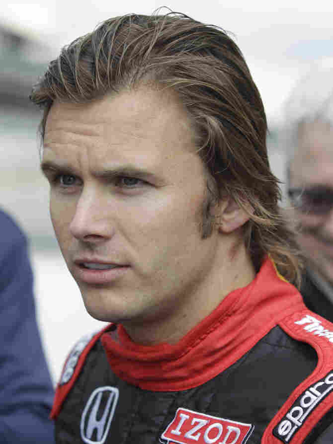 Two-time Indianapolis 500 winner Dan Wheldon died in the fiery crash. He was 33.