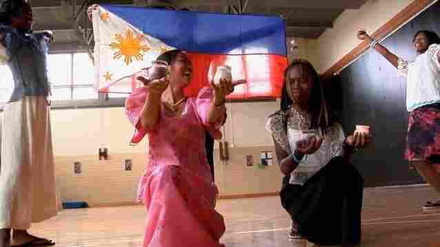A scene from The Learning, a documentary about teachers from the Philippines who are working in Baltimore.