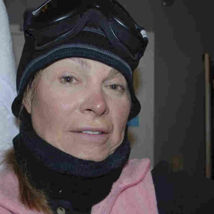 Renee-Nicole Douceur in October 2010, in Antarctica.