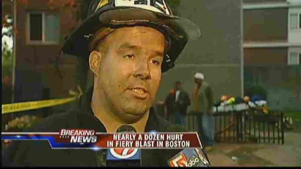 Lt. Glenn McGillivray, Boston firefighter.
