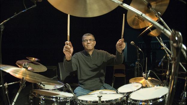 Drummer Jack DeJohnette. (Jos L. Knaepen)