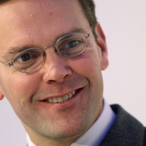 James Murdoch, son of Rupert Murdoch, is the Chairman and Chief Executive of News Corporation, Europe and Asia.