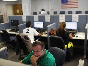 Older Job Seekers Face Difficult Road : NPR