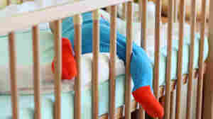 When It Comes To Baby's Crib, Experts Say Go Bare Bones