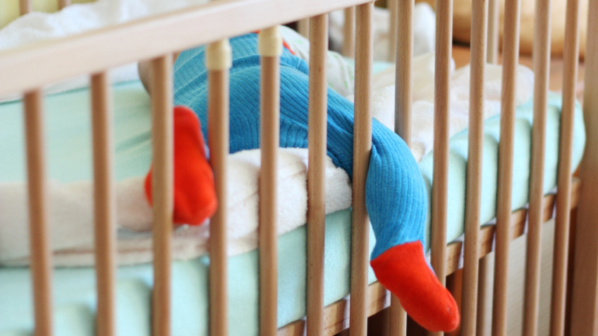 When It Comes To Baby S Crib Experts Say Go Bare Bones Shots Health News Npr