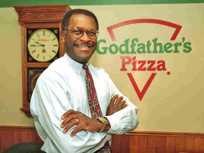 Herman Cain became a vice president at Pillsbury, left that job and started over at Burger King, where he climbed the corporate ladder again. Eventually, he became CEO of