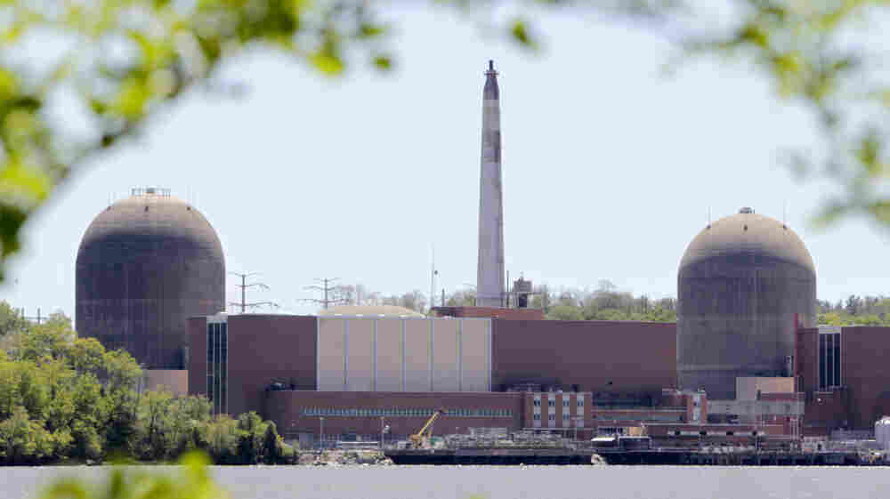 The nuclear power plant at Indian Point in Buchanan, N.Y., is seen with the Hudson River in the foreground. Gov. Andrew Cuomo's stated resolve to close Indian Point has sparked a debate about the energy outlook for metropolitan New York.