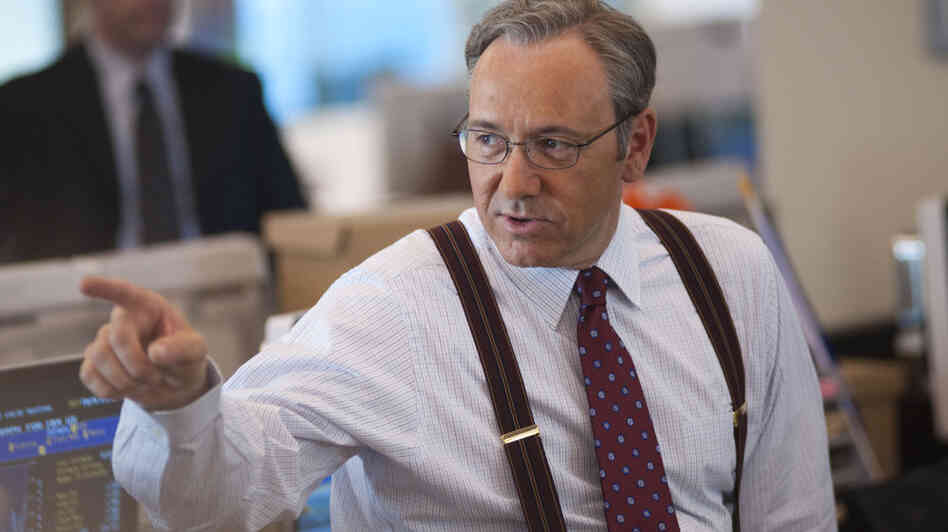 "Kevin Spacey gives ""a major performance, his best in a decade,"" as a Wall Street execut"