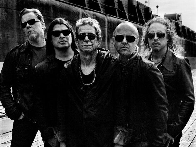 Lou Reed and Metallica.